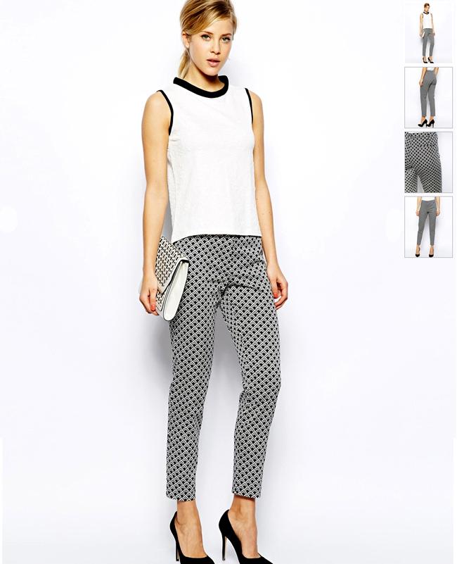 feb73574210e Ένα σ∈ξυ slim παντελόνι συνδιάζεται υπέροχα με μια κλασική μονόχρωμη  μπλούζα. Έτσι είστε ντυμένη από το πρωί έως το βράδυ και είστε τόσο υπέροχη!