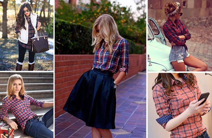 6603be296c Καρό πουκάμισο  40 υπέροχες προτάσεις για να φορέσετε το must κομμάτι.