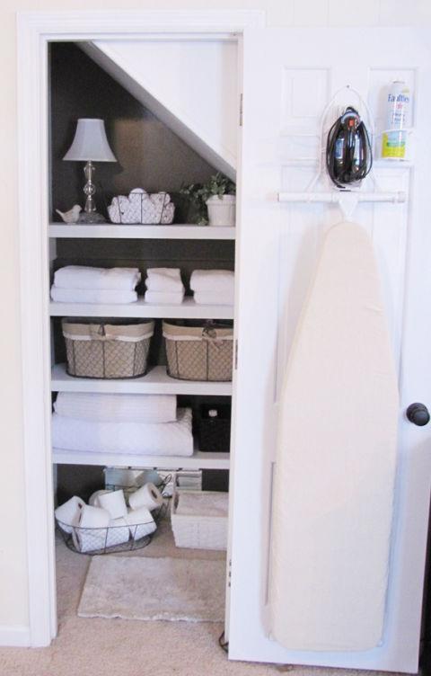 linen-closet-ironing-station