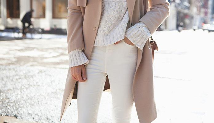 d4c26408045e 15 τρόποι για να φορέσετε λευκό το Χειμώνα - Όλα Για Την Γυναίκα
