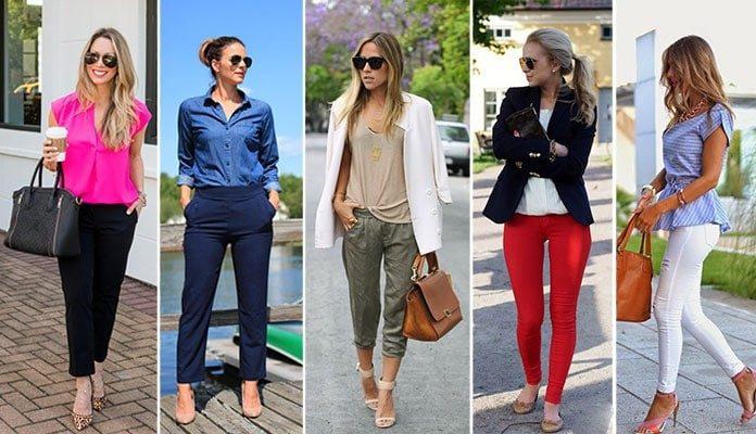 Οι πιο εντυπωσιακοί συνδυασμοί με παντελόνι ανάλογα με το χρώμα του