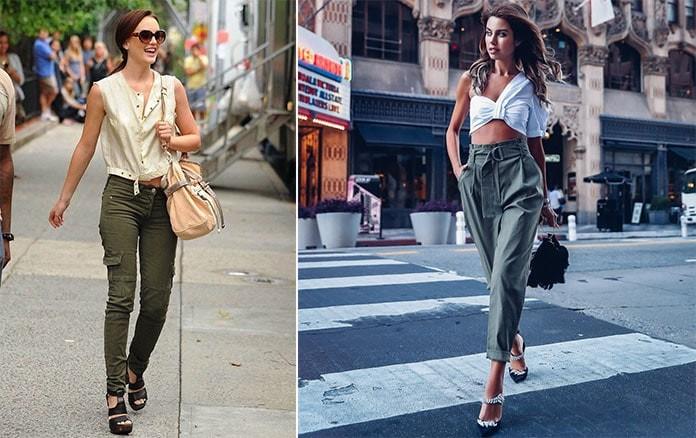 3cc3ff24838 Άνετα και πολύ trendy θα είναι και τα ψηλόμεσα παντελόνια που είναι φαρδιά  στη μέση και στενεύουν προς τα κάτω, καθώς και τα cargo pants, που είναι  γνωστά ...
