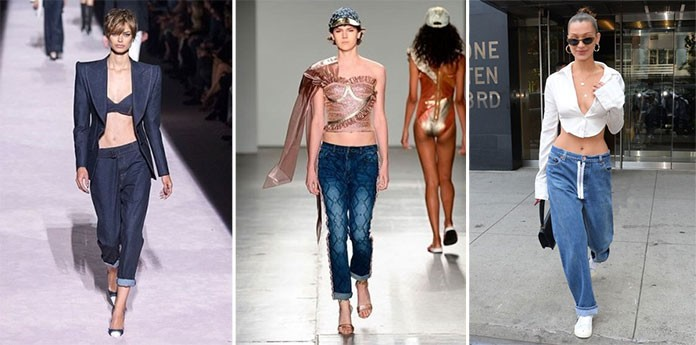 c987d97d9e65 Αν και τα τελευταία χρόνια τα ψηλόμεσα παντελόνια και τα mom jeans ήταν ένα  must κομμάτι στην γυναικεία γκαρνταρόμπα