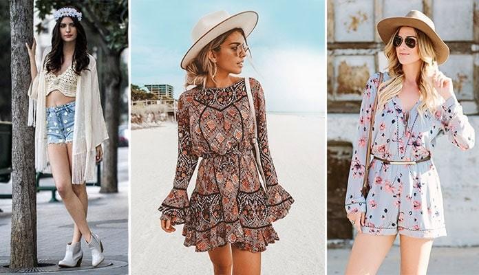 5d01631c0acf Μυστικά και ιδέες για τέλειο boho style ντύσιμο με τα κατάλληλα ρούχα