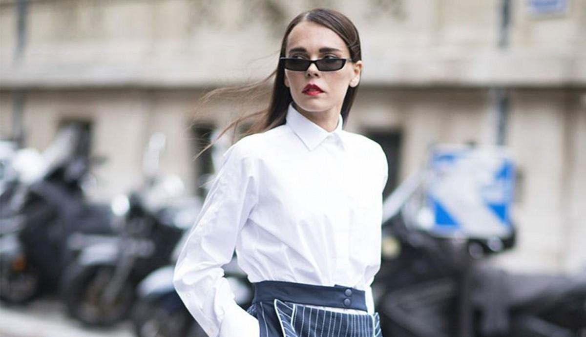 11f8fef37f29 Πώς θα φορέσετε με στυλ all day το αγαπημένο λευκό πουκάμισο - Όλα ...